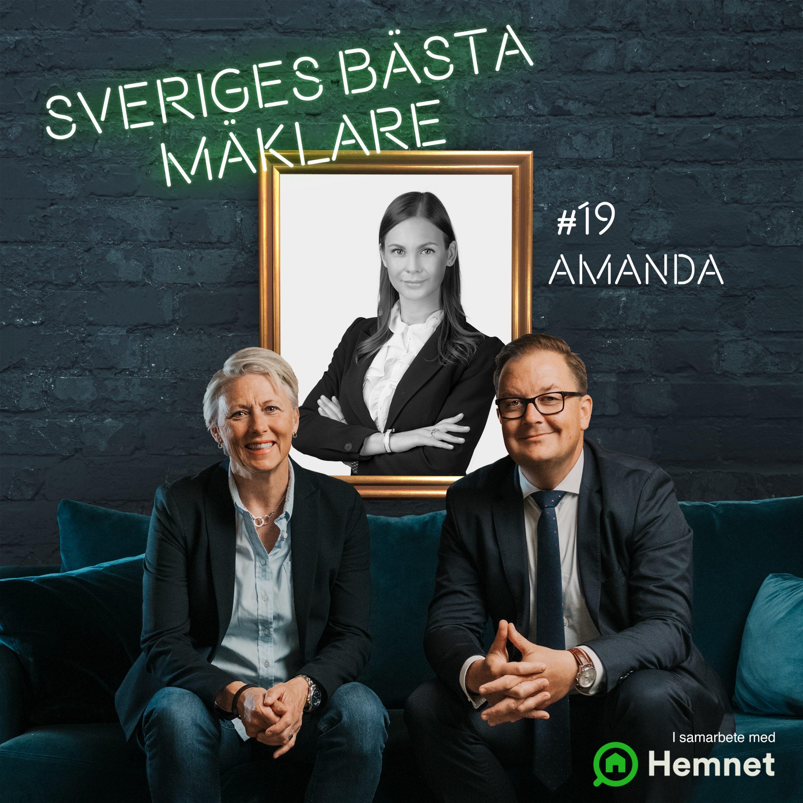 Amanda Treutiger, Alicia Edelman Fastighetsmäkleri
